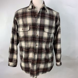 Vintage Field & Stream Heavy Thick Flannel Medium